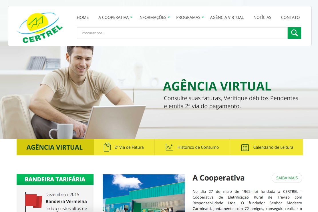 Novo site CERTREL